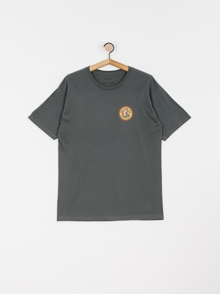 T-shirt Brixton Rival II Stnd (washed black/orange)
