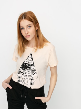 T-shirt Volcom Radical Daze Wmn (light peach)