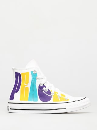 Trampki Converse Chuck Taylor All Star Hi (white/court purple/amarillo)