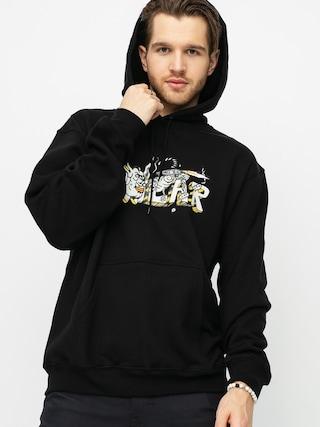 Bluza z kapturem Polar Skate Uzi HD (black)