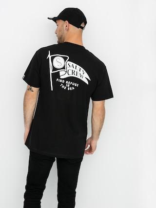 T-shirt Salty Crew Waypoint Pocket (black)