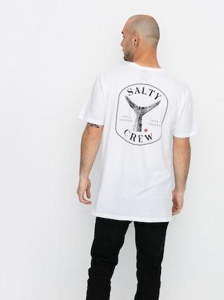 T-shirt Salty Crew Fishstone Premium (white)