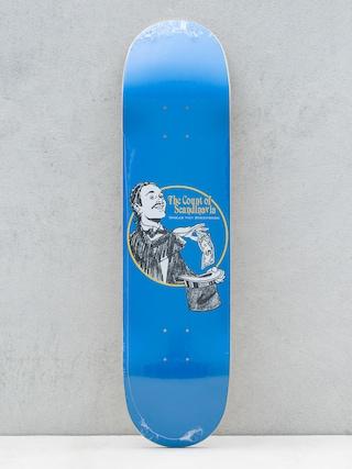 Deck Polar Skate Oskar Rozenberg The Count (blue)