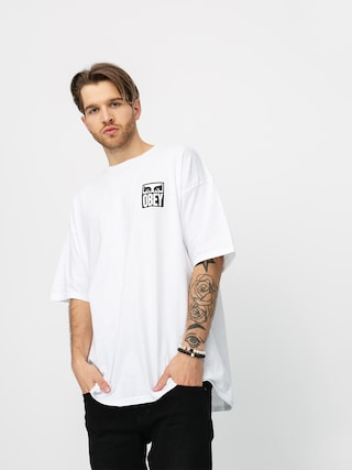 T-shirt OBEY Obey Eyes Icon 2 (white)