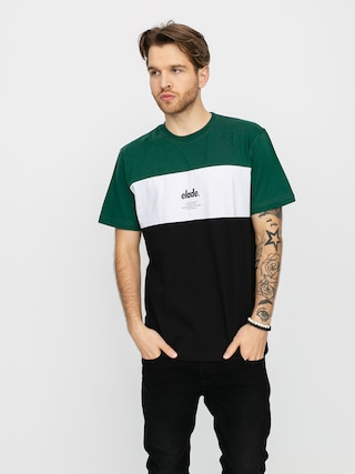 T-shirt Elade Colour Block (green/white/black)