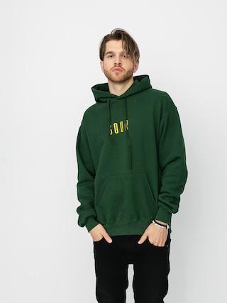 Bluza z kapturem Sour Solution Sour Army (bottle green)