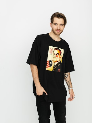 T-shirt OBEY Pay Up Or Shut Up (black)