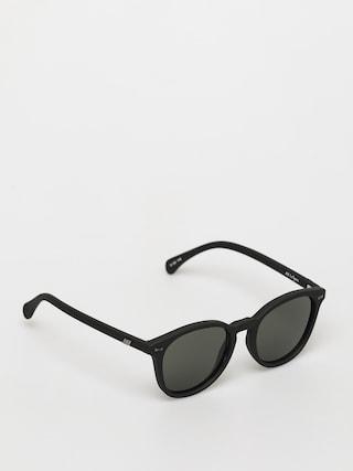 Okulary przeciwsłoneczne Le Specs Bandwagon (black rubber)