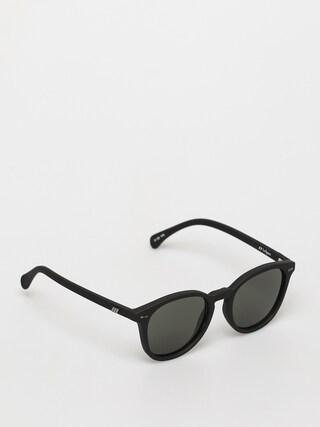 Okulary przeciwsu0142oneczne Le Specs Bandwagon (black rubber)