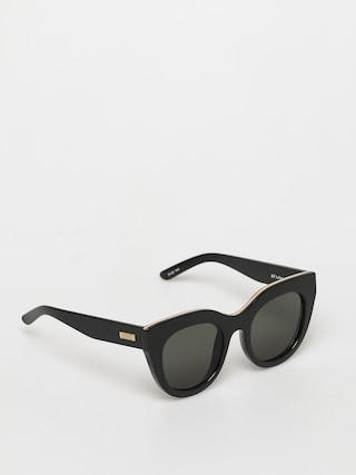 Okulary przeciwsłoneczne Le Specs Air Heart (black/gold)