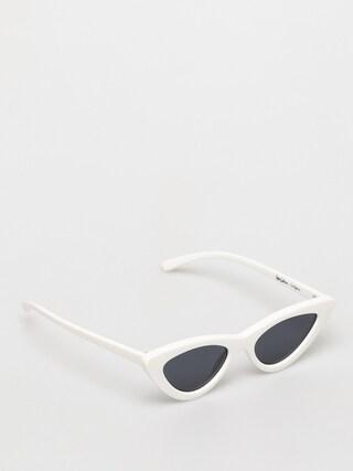 Okulary przeciwsu0142oneczne Le Specs X Adam Selman The Last Lolita (white)