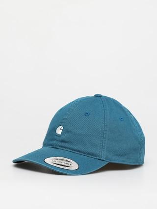 Czapka z daszkiem Carhartt WIP Madison Logo ZD (moody blue/wax)