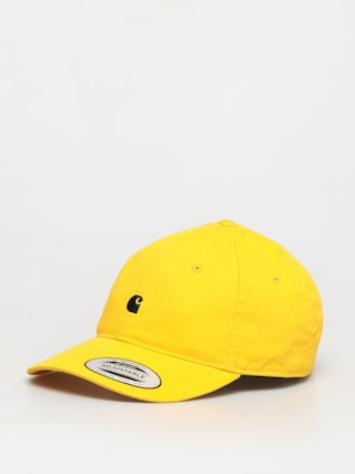 Czapka z daszkiem Carhartt WIP Madison Logo ZD (sunflower/black)