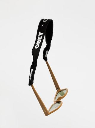 Okulary przeciwsłoneczne Komono Rocco X Obey (caramel)