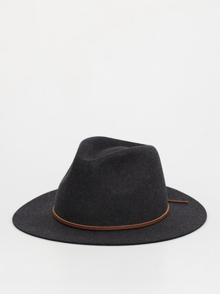 Kapelusz Brixton Wesley Fedora (heather/black)
