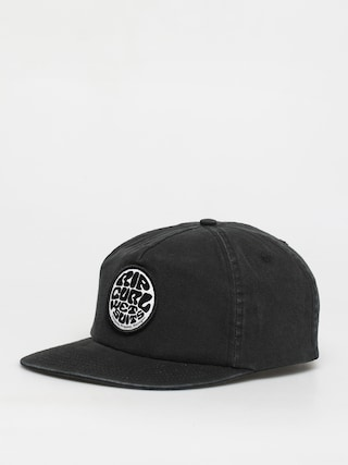 Czapka z daszkiem Rip Curl Washed Wetty Sb ZD (washed black)
