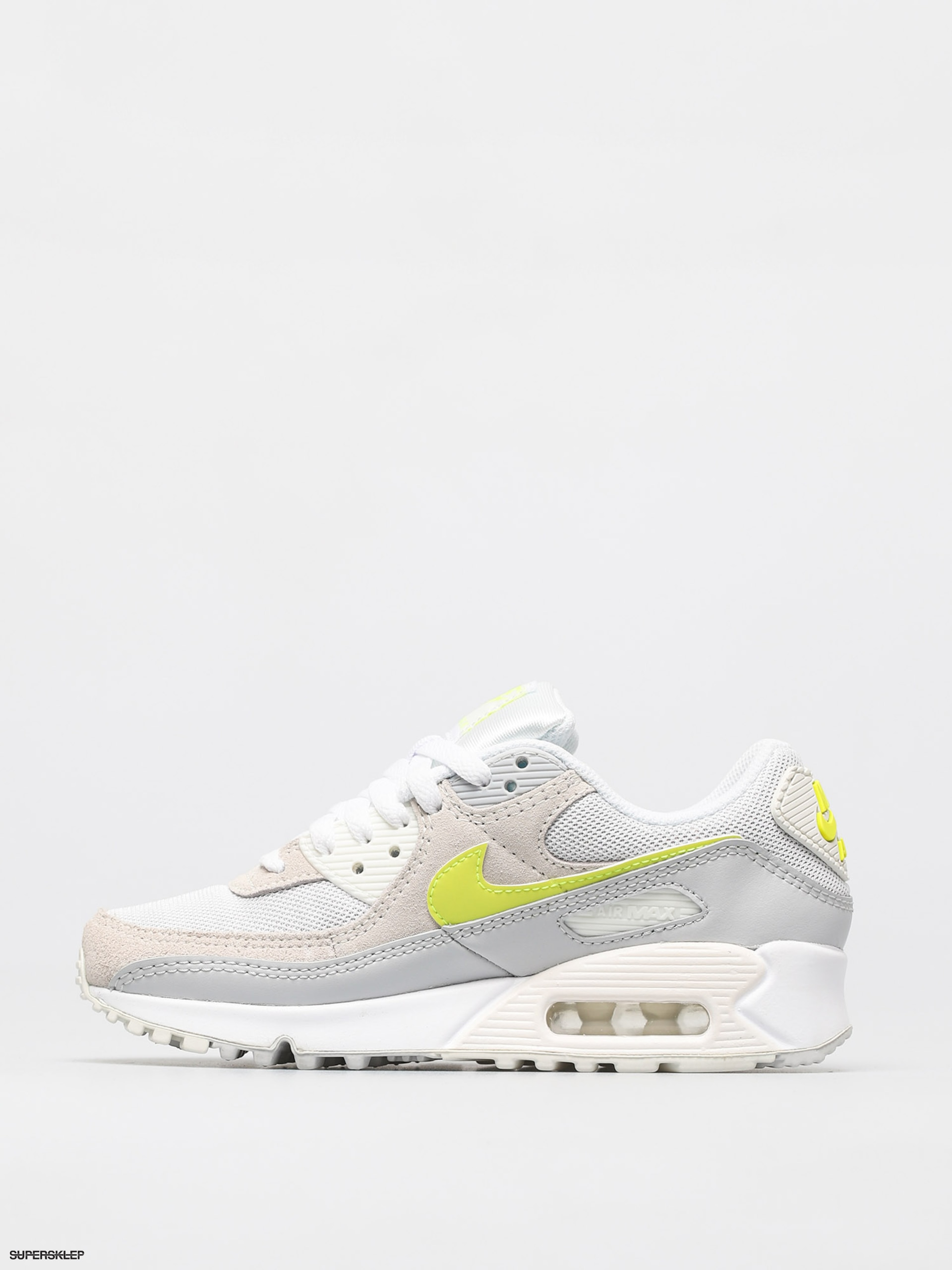 Buty Nike Air Max 90 Wmn (whitelemon venom pure platinum sail)