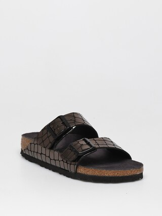 Klapki Birkenstock Arizona Narrow Wmn (gator gleam black)