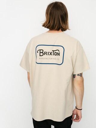 T-shirt Brixton Grade Stnd (vanilla/blue)