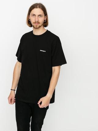 T-shirt Carhartt WIP Script Embroidery (black/white)