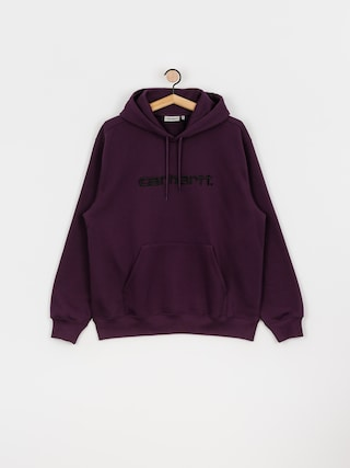 Bluza z kapturem Carhartt WIP Carhartt HD (boysenberry/black)