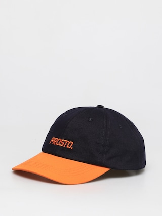 Czapka z daszkiem Prosto 6Panel Huey ZD (blue/orange)