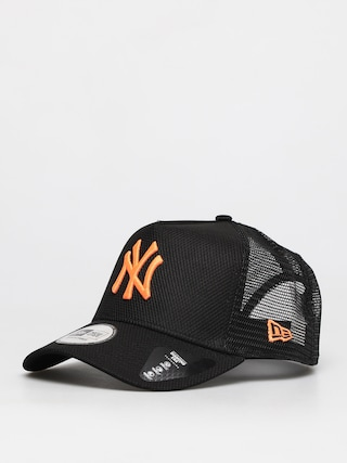 Czapka z daszkiem New Era Diamond Era Trucker Nyy ZD (black/neo)