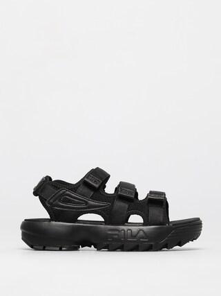 Sandau0142y Fila Disruptor Sandal Wmn (black/black)
