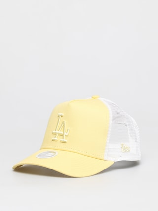 Czapka z daszkiem New Era Trucker La Dodgers ZD Wmn (yelllow)