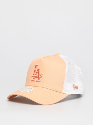 Czapka z daszkiem New Era Trucker La Dodgers ZD Wmn (orange)