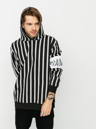 Bluza z kapturem Diamond Supply Co. Lafayette Striped HD (black)