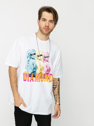 T-shirt Diamond Supply Co. Four Everyone (white)