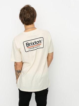 T-shirt Brixton Palmer Prem (dove)