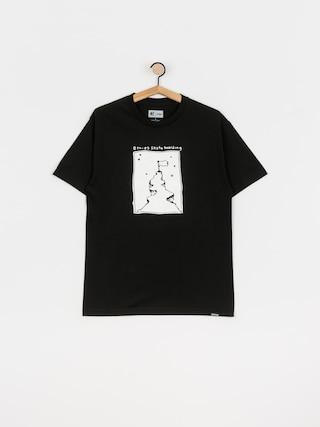 T-shirt Etnies White Flag (black)