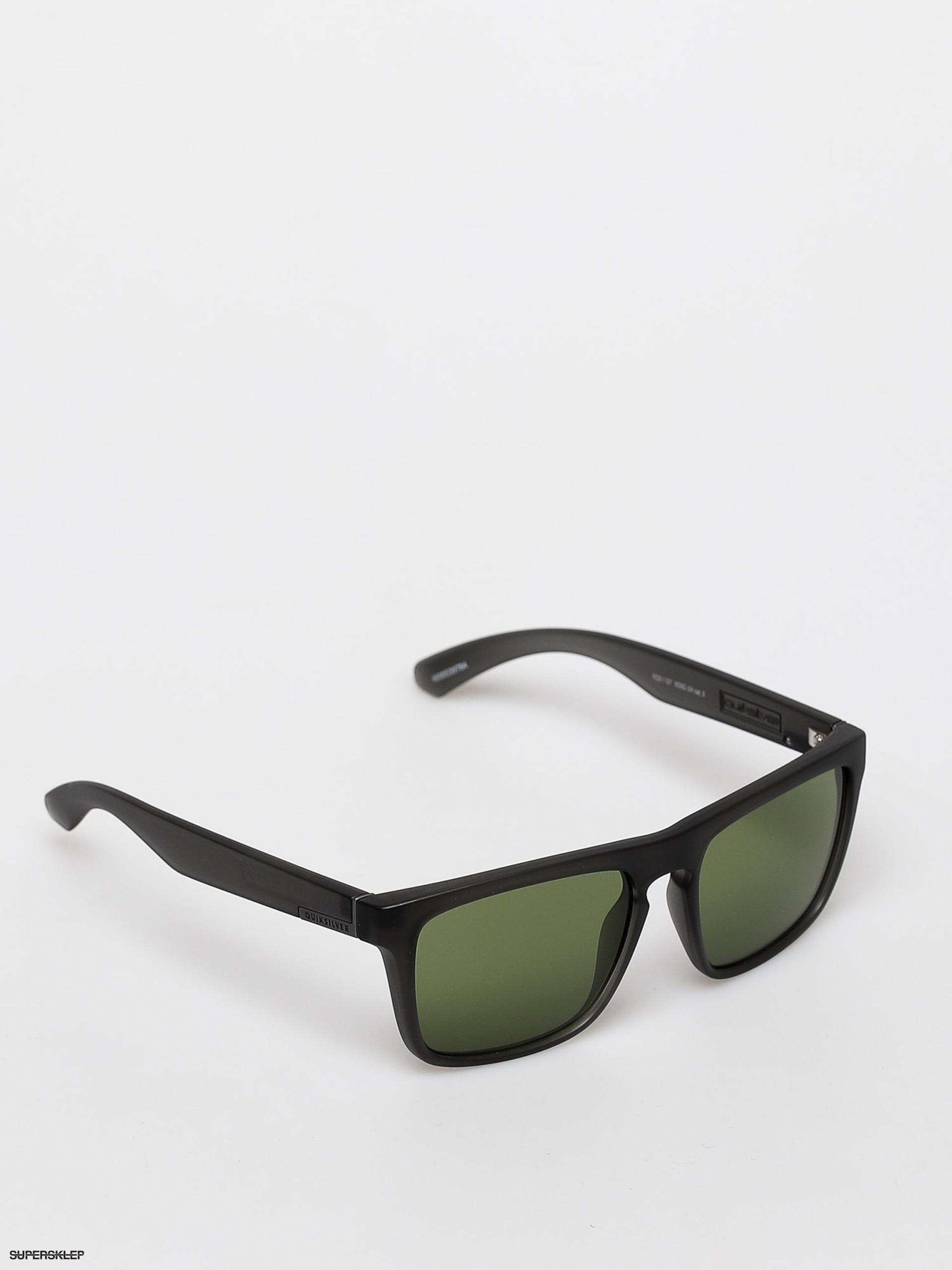 Okulary przeciwsłoneczne Quiksilver The Ferris (matte cry smkegreen)