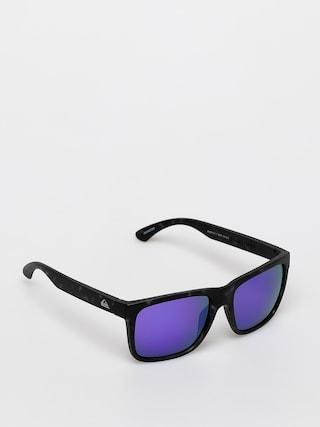 Okulary przeciwsu0142oneczne Quiksilver Charger (matte to bl/ml pu)