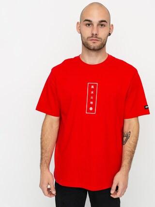 T-shirt Element Arata (fire red)