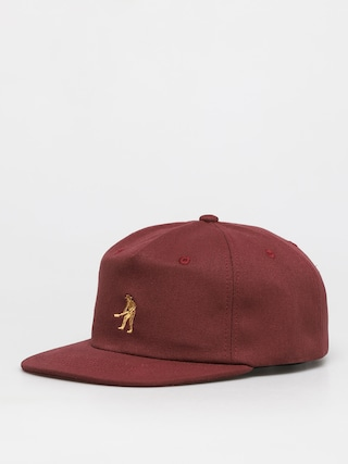 Czapka z daszkiem Pass Port Workers 5 Panel ZD (maroon)