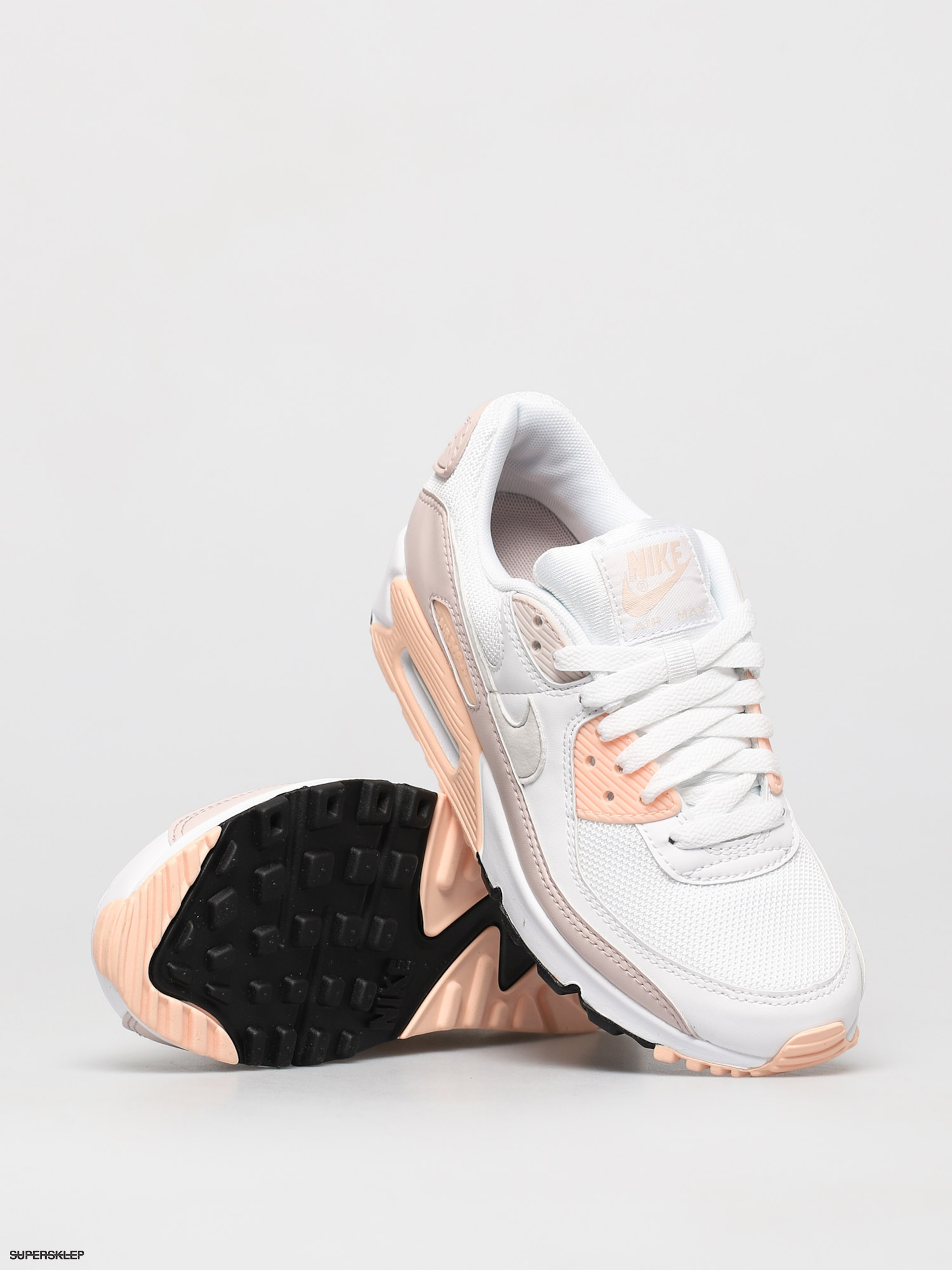 Buty Nike Air Max 90 Wmn (whiteplatinum tint barely rose)
