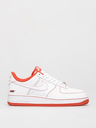 Buty Nike Air Force 1 07 Lv8 (white/team orange black)