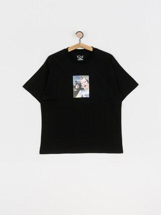 T-shirt Polar Skate Sponsor Me (black)