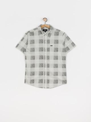 Koszula Brixton Charter Plaid Wvn (whblk)