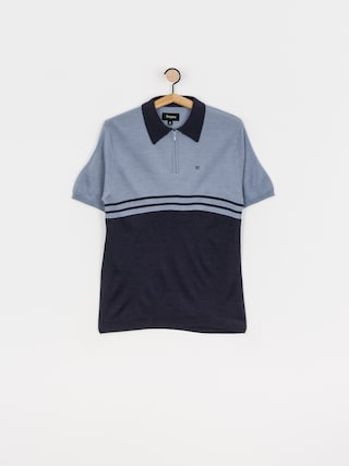 Polo Brixton Allen 1/4 Zip (twilight blue/washed navy)