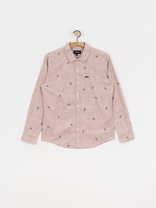 Koszula Brixton Charter Print Ls (dusty pink)
