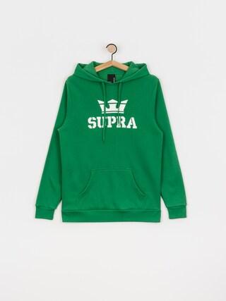 Bluza z kapturem Supra Above HD (green/white white)