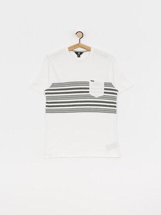 T-shirt Volcom Threezy Crew (wht)