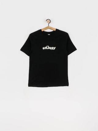 T-shirt Stussy Big U Wmn (black)