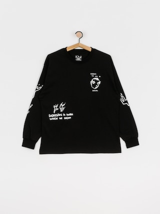 Longsleeve Polar Skate Notebook (black)