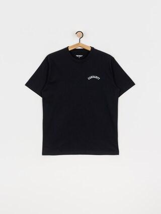 T-shirt Carhartt WIP University Script (dark navy/white)