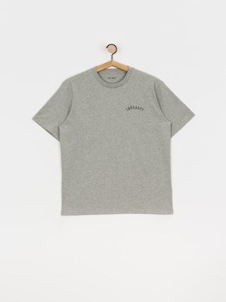 T-shirt Carhartt WIP University Script (grey heather/black)